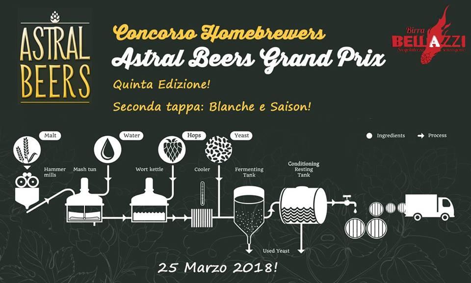 Concorso Homebrewers Astral Beers Grand Prix - Quinta edizione - Seconda tappa